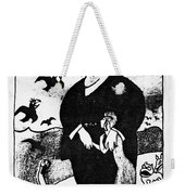 Jean L�on Jaur�s (1859-1914) Weekender Tote Bag