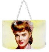 Jean Peters, Vintage Actress Weekender Tote Bag