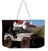 Jeep Art Weekender Tote Bag
