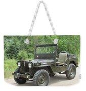 Jeep At Hydes Creek Weekender Tote Bag