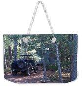 Jeep At Tin Camp Weekender Tote Bag