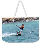 Jeff Kite Surfer Weekender Tote Bag