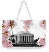 Jefferson In Spring Weekender Tote Bag