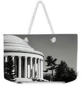 Jefferson Memorial Building In Washington Dc Weekender Tote Bag