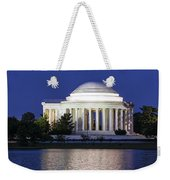 Jefferson Memorial Dusk Weekender Tote Bag
