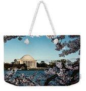 Jefferson Memorial In Spring Weekender Tote Bag