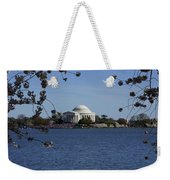 Jefferson Monument Weekender Tote Bag