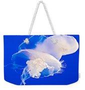 Jellies In Jellyfish Tank In Monterey Aquarium-california Weekender Tote Bag