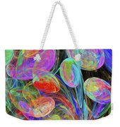 Jelly Beans And Balloons Abstract Weekender Tote Bag
