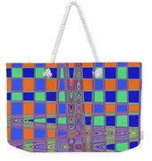 Jelly Fish On The Beach Abstract Weekender Tote Bag