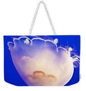 Jelly In Jellyfish Tank In Monterey Aquarium-california Weekender Tote Bag