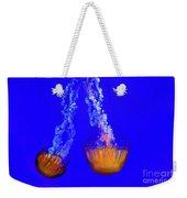 Jellyfish Art Weekender Tote Bag