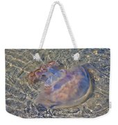 Jellyfish Weekender Tote Bag by Betsy Knapp