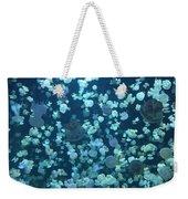 Jellyfish Collage Weekender Tote Bag