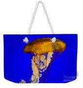 Jellyfish In Blue Waters Weekender Tote Bag
