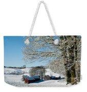 Jenne Farm Winter In Vermont Weekender Tote Bag