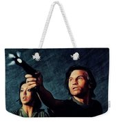 Jenny Agutter And Michael York, Logan's Run Weekender Tote Bag