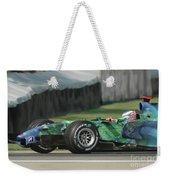 Jenson Button, Honda Ra107  Weekender Tote Bag