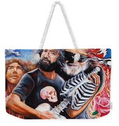 Jerry Garcia And The Grateful Dead Weekender Tote Bag