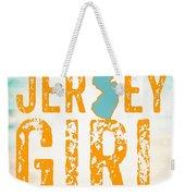 Jersey Girl Weekender Tote Bag