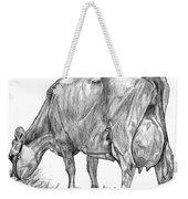 Jersey Milking Cow Weekender Tote Bag