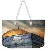 Jerusalem - Dome Of The Rock Sky Weekender Tote Bag