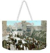 Jerusalem: Bazaar, C1900 Weekender Tote Bag