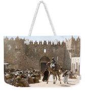 Jerusalem: Caravan, C1919 Weekender Tote Bag