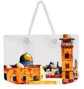 Jerusalem Domes And Minarets Weekender Tote Bag