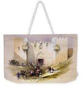 Jerusalem Gate Weekender Tote Bag