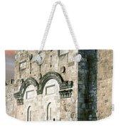 Jerusalem Golden Gate  Weekender Tote Bag