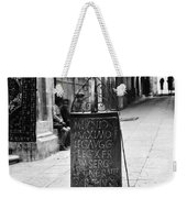 Jerusalem: Roman Pillar Weekender Tote Bag