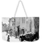 Jerusalem Street In 1914 Weekender Tote Bag