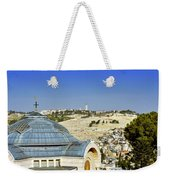 Jerusalem View Weekender Tote Bag