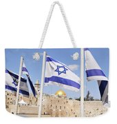 Jerusalem Wailing Wall Weekender Tote Bag