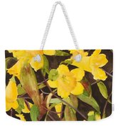 Jessamine Jungle Weekender Tote Bag