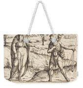 Jesse Sends David To His Brothers And Saul Weekender Tote Bag