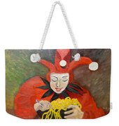 Jester And Spaghetti Weekender Tote Bag