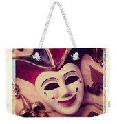 Jester Mask Weekender Tote Bag