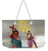 Jesus And Abraham Weekender Tote Bag