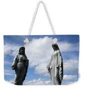 Jesus And Mary Weekender Tote Bag