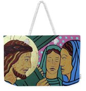 Jesus And The Women Of Jerusalem Weekender Tote Bag