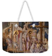 Jesus Arrest And Preparation For Crucifiction Weekender Tote Bag