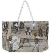 Jesus Bearing The Cross Weekender Tote Bag