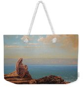 Jesus By The Sea Weekender Tote Bag