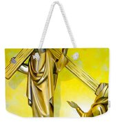 Jesus Carries The Cross Weekender Tote Bag