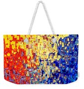 Jesus Christ The Light Of The World Weekender Tote Bag by Mark Lawrence