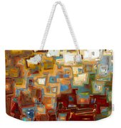 Jesus Christ The Mighty One Weekender Tote Bag by Mark Lawrence
