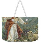 Jesus Christ The Tender Shepherd Weekender Tote Bag