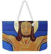 Jesus Dies On The Cross Weekender Tote Bag